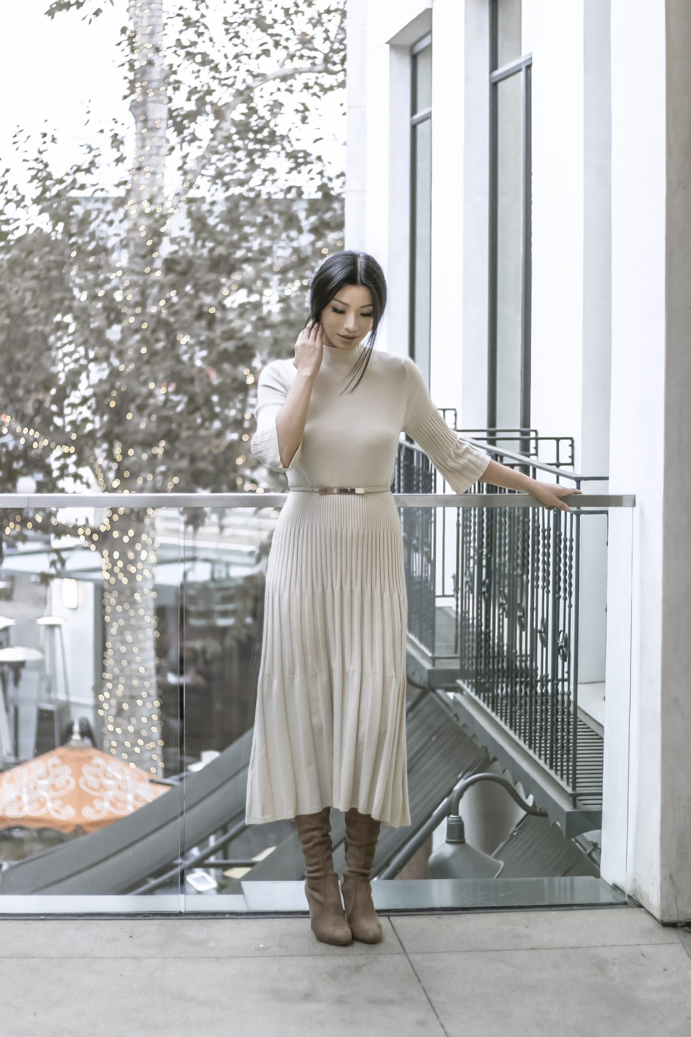 How To Wear A Midi Sweater Dress
